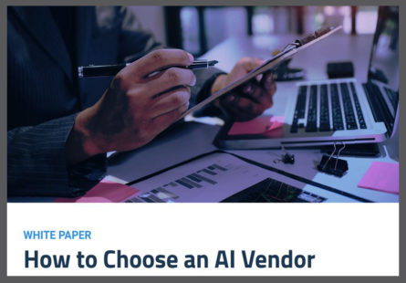How to choose an AI vendor